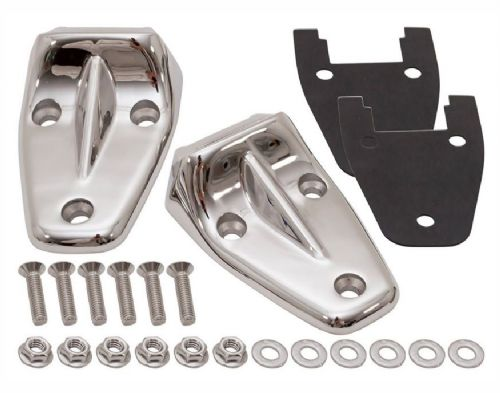 Defender Stainless Steel Bonnet Hinges - Pair